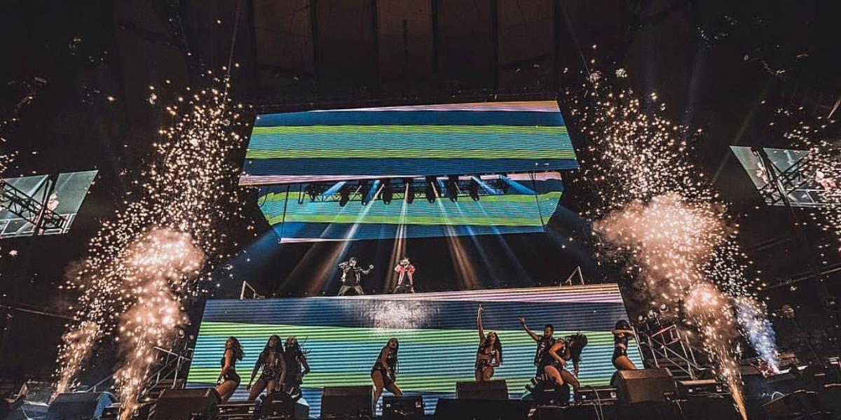 Histórico concierto de Wisin y Yandel en Madison Square Garden