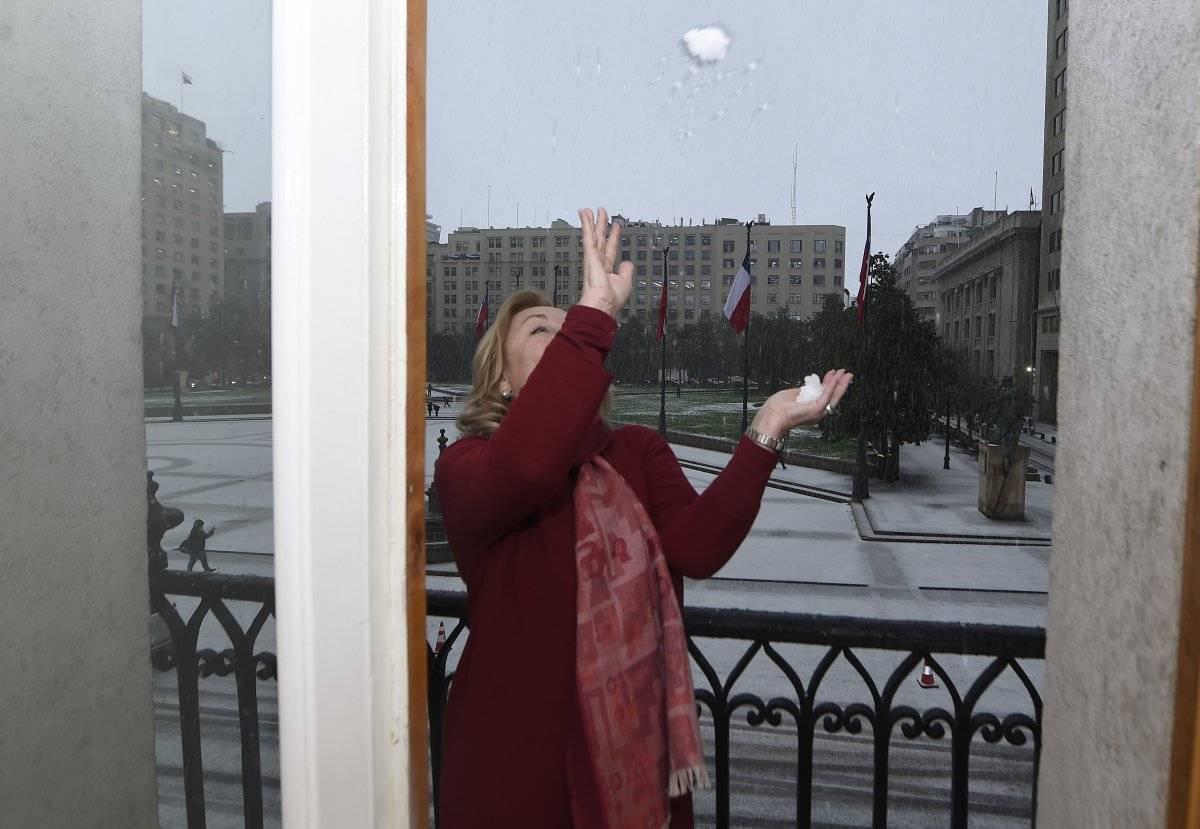 Cecilia Morel y la nieve