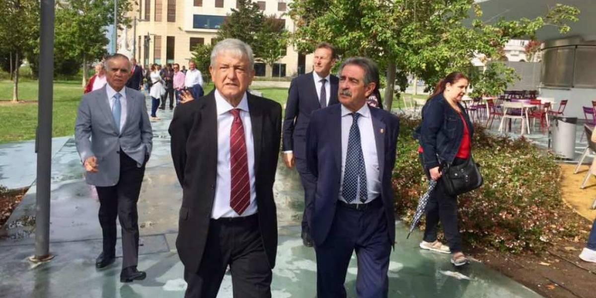 Líder de comunidad en España apuesta por la victoria de AMLO