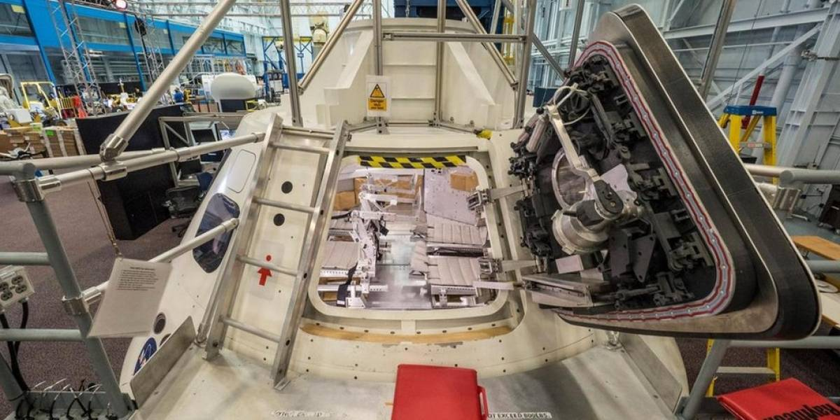 Como é viver no interior da nova cápsula espacial da Nasa