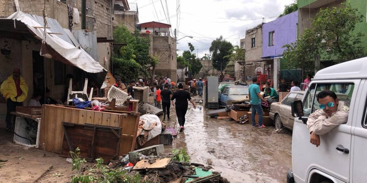 Reparten culpas tras inundaciones en Guadalajara
