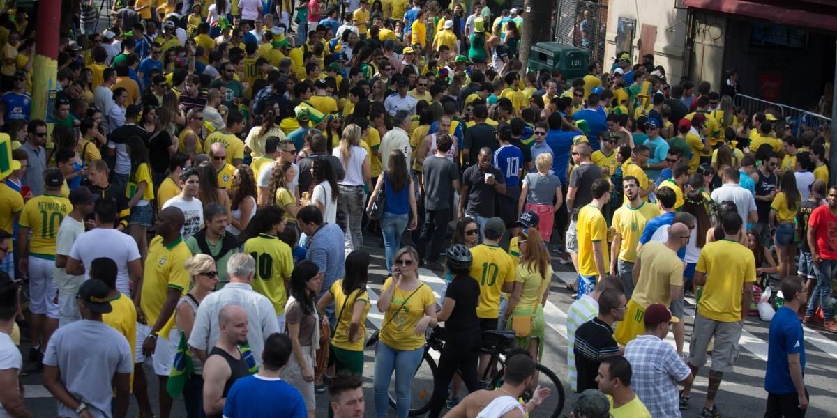 Em SP, jogos da Copa não vão poder ser transmitidos na rua