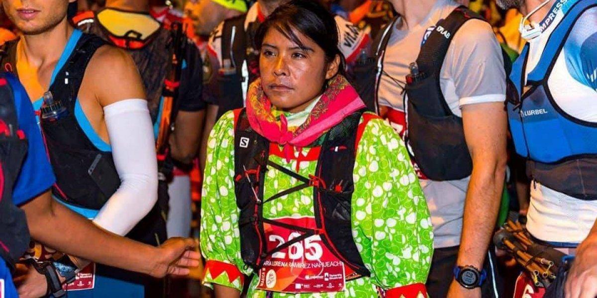 Lorena Ramírez, la rarámuri que ganó tercer lugar en ultramaratón europeo