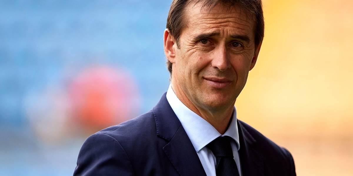 Oficial: Julen Lopetegui será el nuevo técnico del Real Madrid