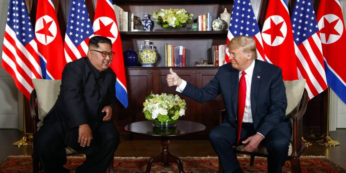 Sonrisas, alabanzas mutuas y una futura visita a la Casa Blanca: la trastienda tras la histórica cita entre Trump y Kim