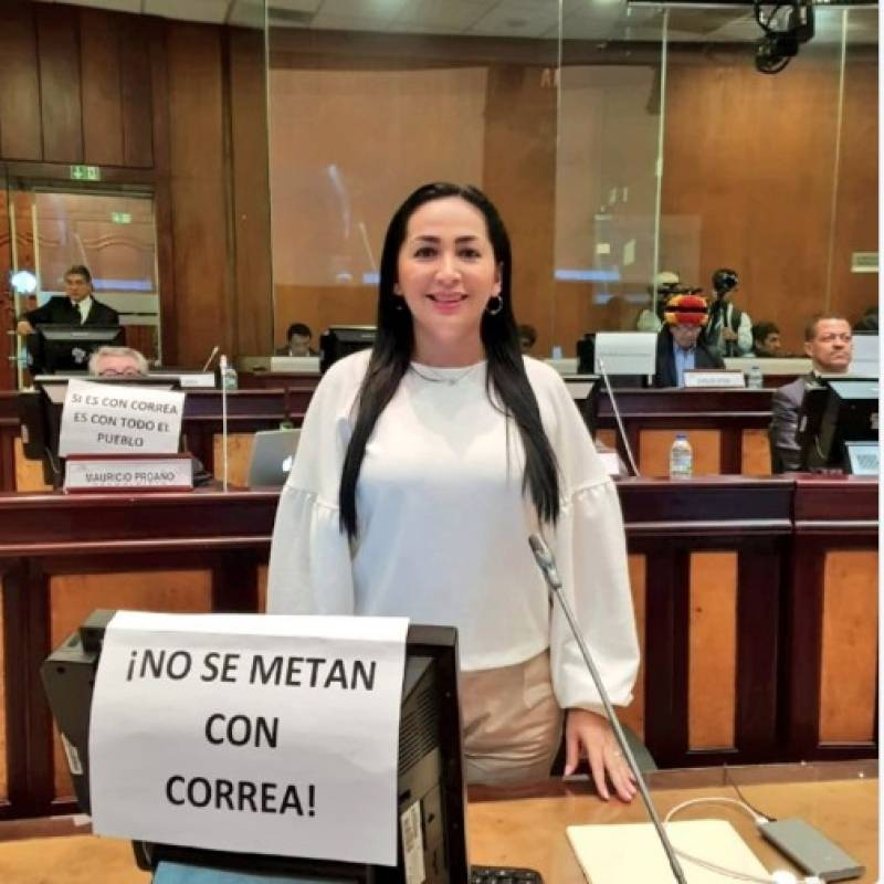 Asambleístas apoyan a Rafael Correa Twitter