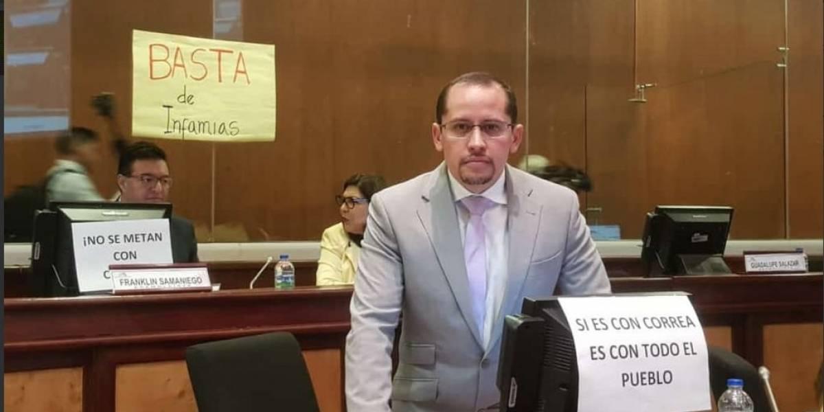 Asambleístas defienden a Rafael Correa tras vinculación en caso Balda