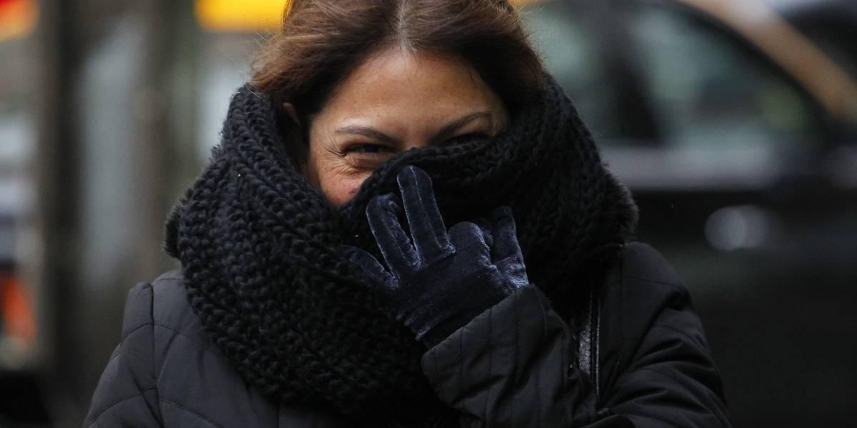Ola de frío en la capital: -1,3 en Quinta Normal y -0,4° C en San Pablo