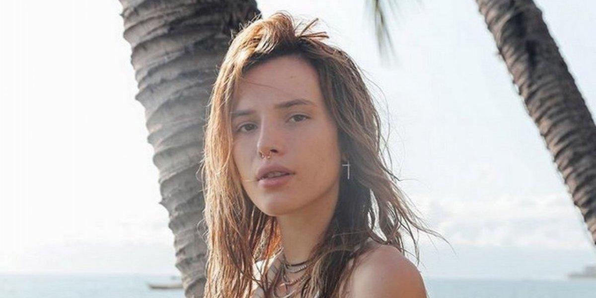 Bella Thorne publica fotos desnuda como respuesta a chantaje de hacker