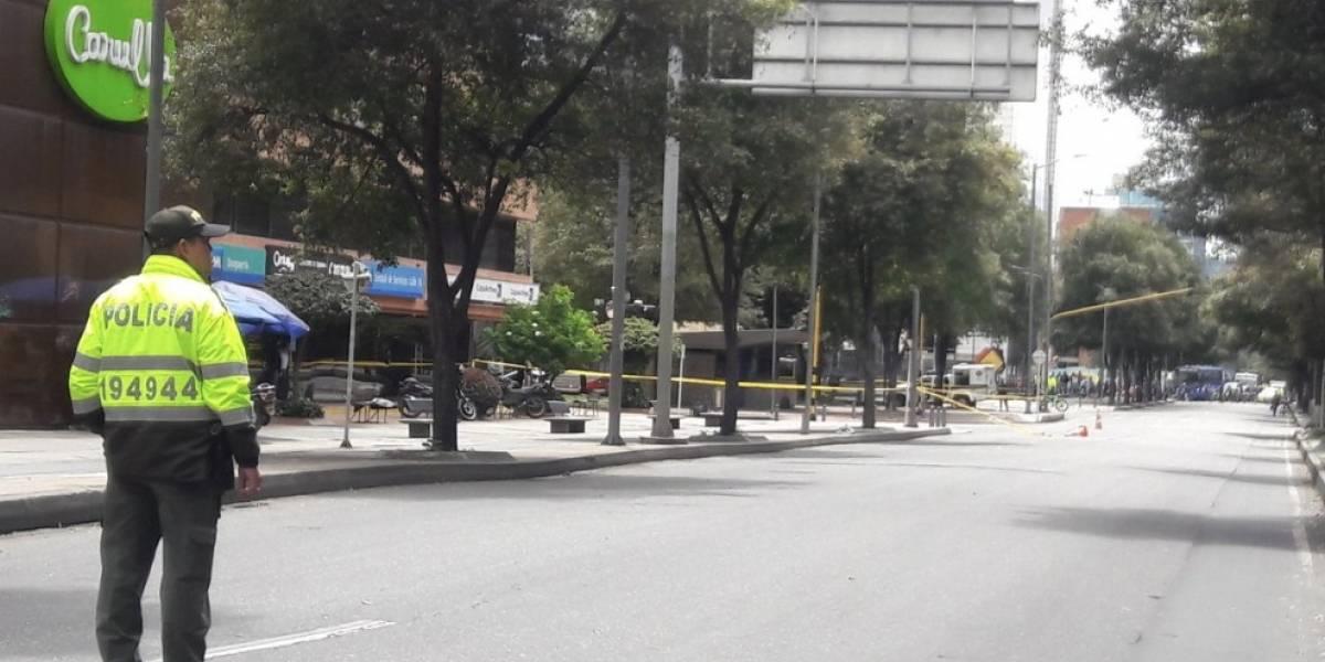 Paquete sospechoso en CAI del norte de Bogotá era basura, según la Policía