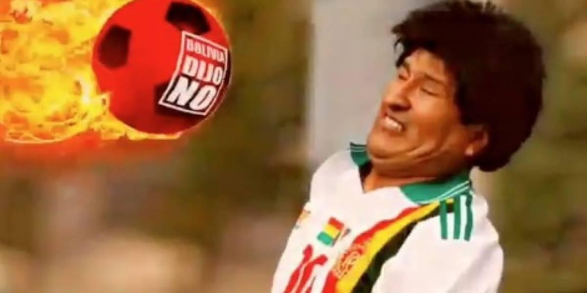 """Evo no se pierde una: Critican que el presidente boliviano irá al tercer mundial de fútbol """"despilfarrando"""" dinero público"""