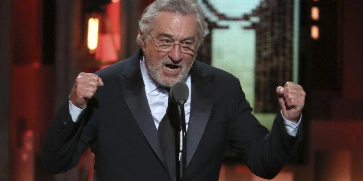 """Otra polémica presidencial: Trump dice que Robert De Niro está """"borracho"""" y que posee bajo coeficiente intelectual"""