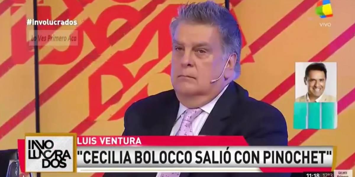 Periodista argentino asegura que Cecilia Bolocco tuvo un romance con Augusto Pinochet