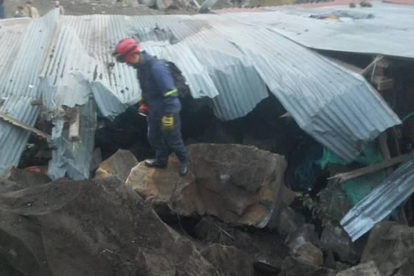 Fuerte sismo en el volcán Galeras en Pasto