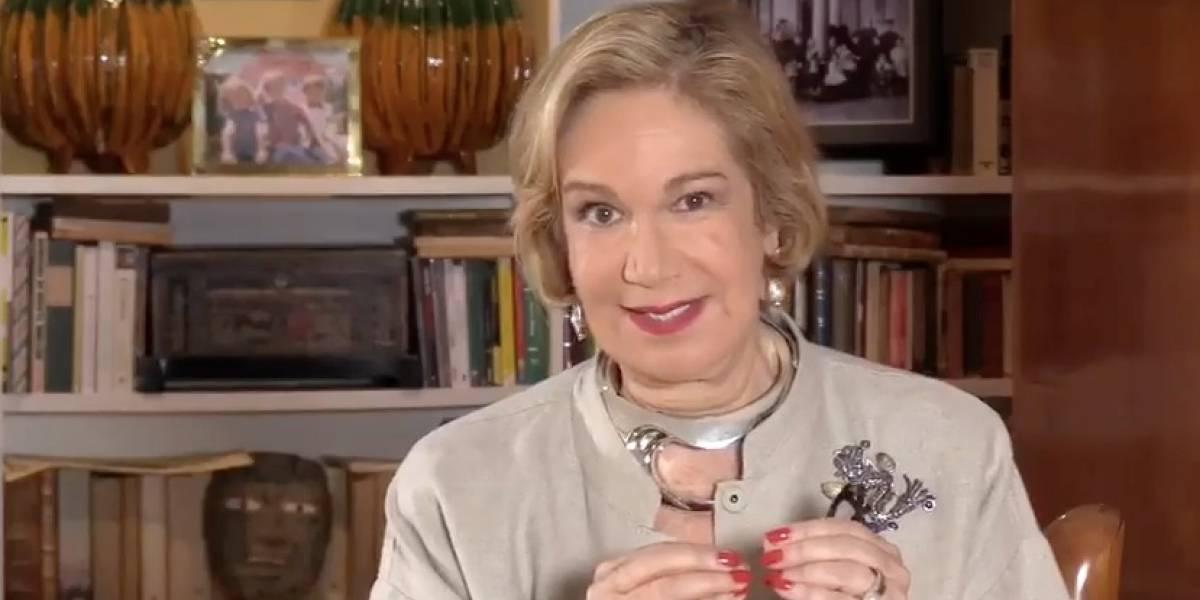 Guadalupe Loeza llama a reflexionar y votar por Meade