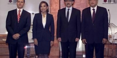 Debate presidencial en 2012