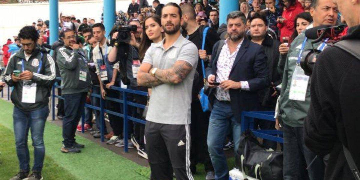 VIDEO: Maluma visita a México en su entrenamiento previo al Mundial