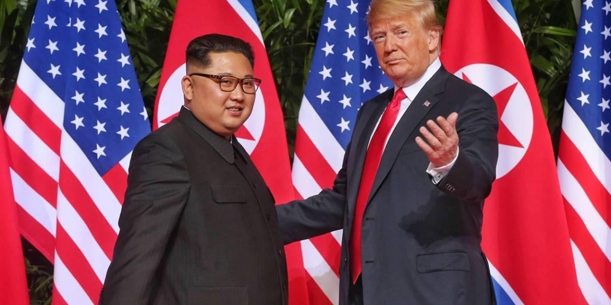 Así reacciona Kim Jong-un cuando Trump hace una broma sobre gordos