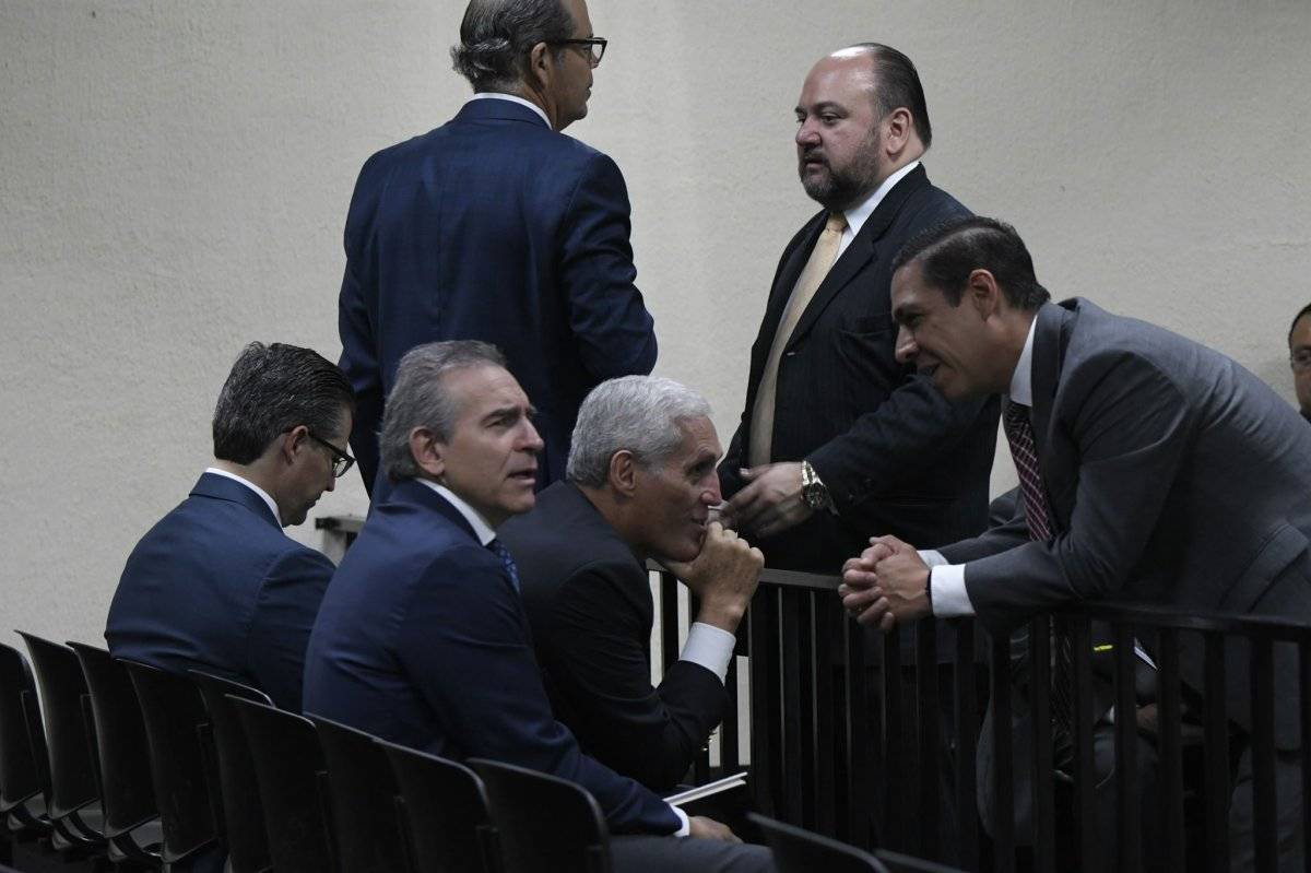 Empresarios señalados por financiamiento electoral ilícito en favor del partido Frente de Convergencia Nacional-Nación (FCN-Nación). Fotos: Omar Solís