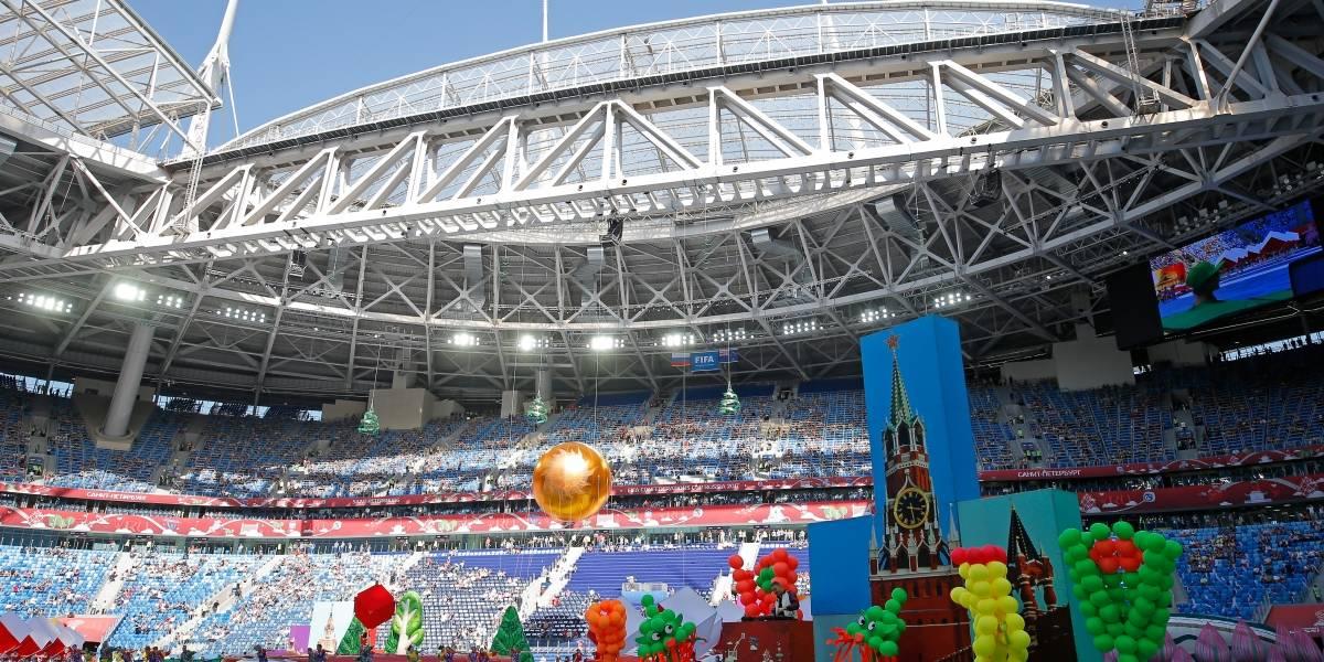 ¡Qué comience la fiesta futbolera! Inicia el Mundial Rusia 2018 con todo su color