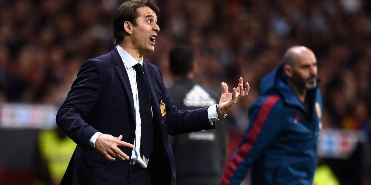 Real Madrid le quitó el técnico a la selección de España y confirmó a Julen Lopetegui como su nuevo DT