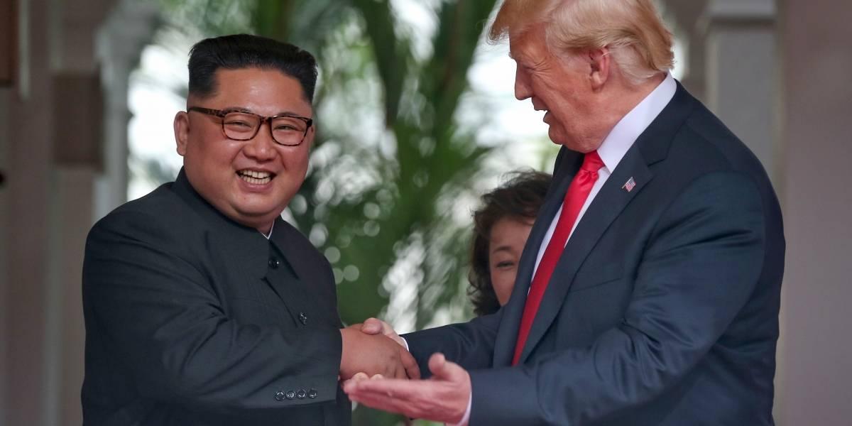"""No todo fue trabajo: Donald Trump le mostró """"La Bestia"""" a Kim Jong-un"""