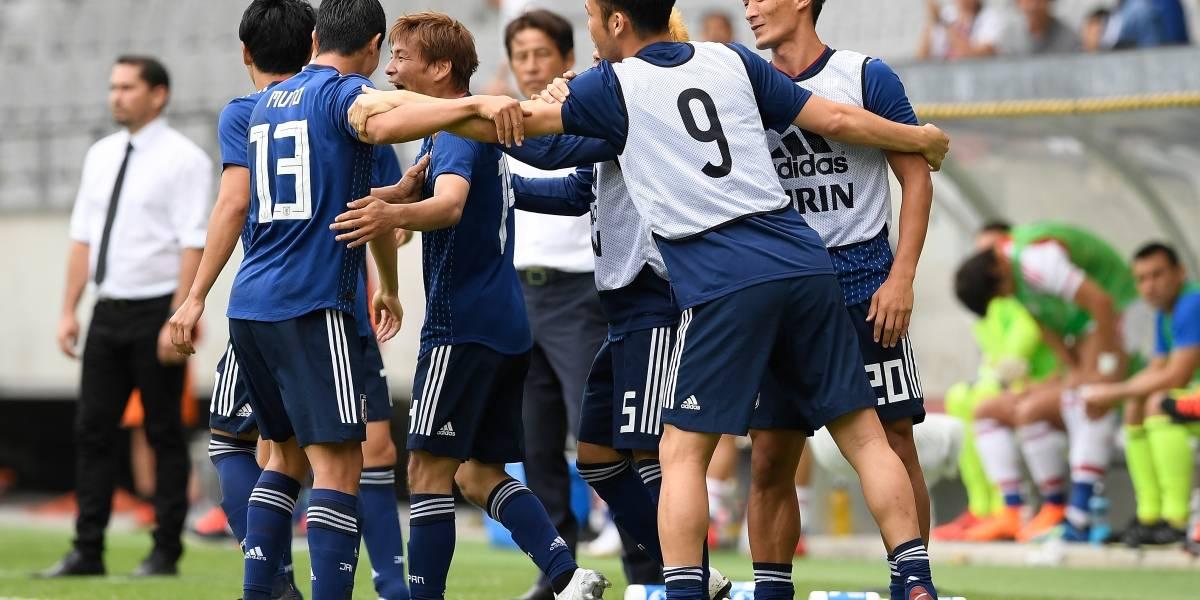 ¿Kagawa, Honda? ¡No! Esta es la figura de Japón y se destapó con dos goles ante Paraguay