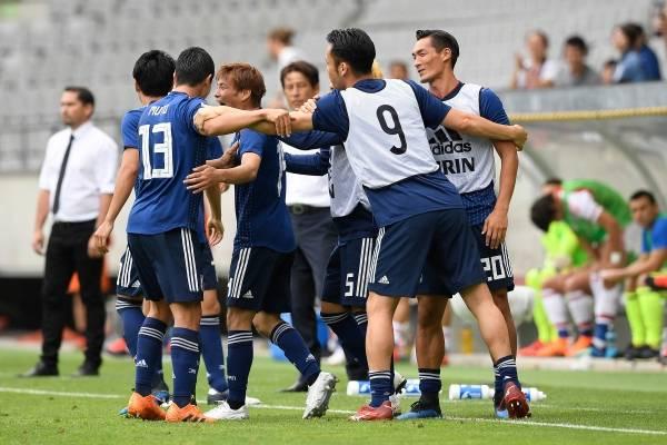 Video de los goles del partido amistoso Japón vs Paraguay