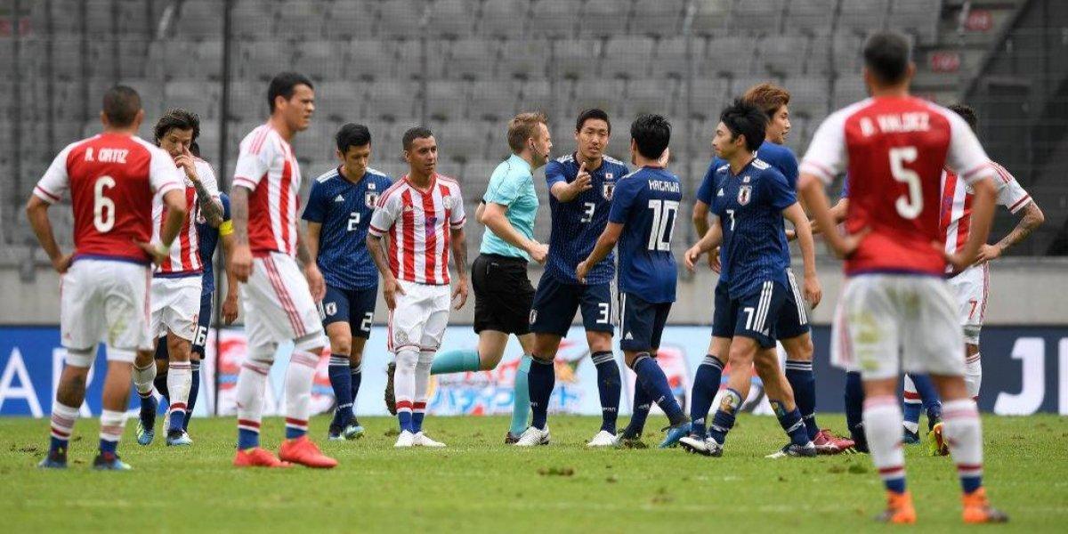 Japón apabulló a Paraguay antes del Mundial y amargó la emotiva despedida de Justo Villar
