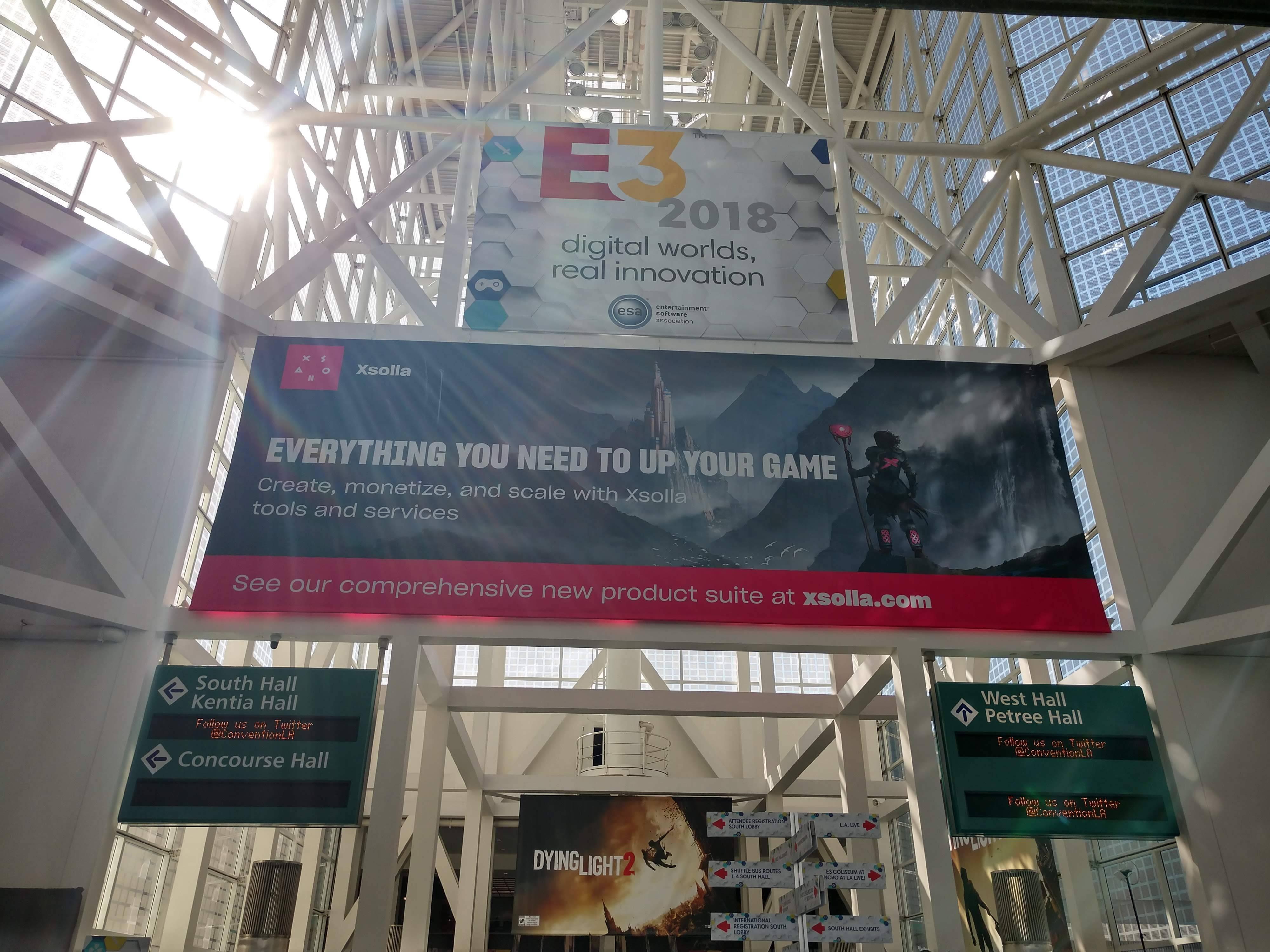 inicio del E3 2018