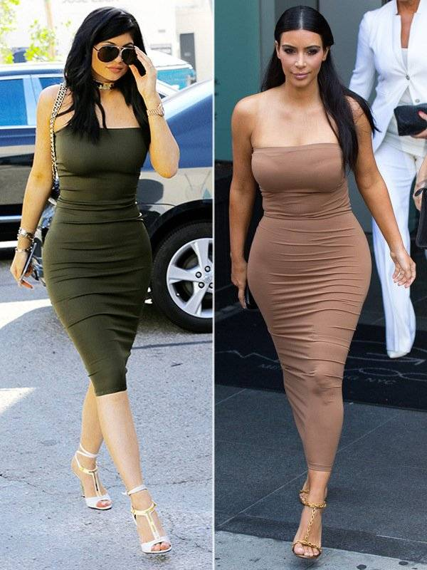 Kylie Jenner y Kim Kardashian