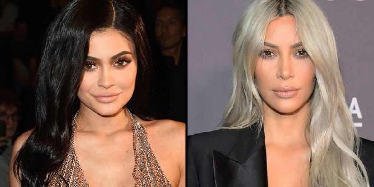 Kim y Kylie paralizan las redes con unos leggings y la similitud de sus atributos