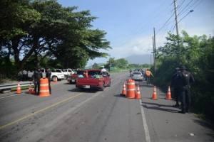 Limpieza de carretera, ruta nacional 14