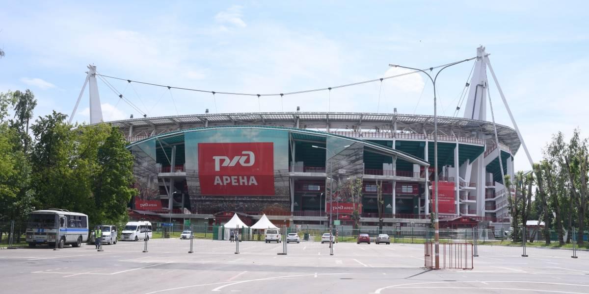#PublinewsEnRusia Visitamos el estadio Lokomotiv, la casa del campeón la Liga Premier de Rusia ¡y es genial!