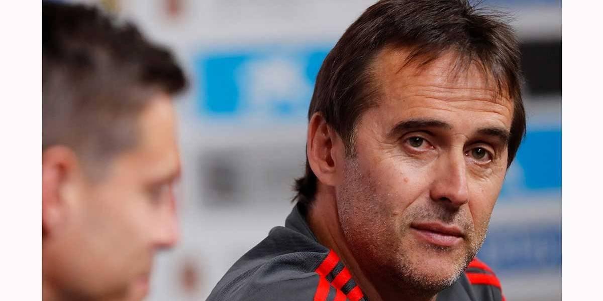 Lopetegui vai assumir como técnico do Real Madrid e deixará a seleção da Espanha após a Copa