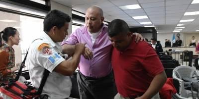 Manfredo Pacheco se desmaya