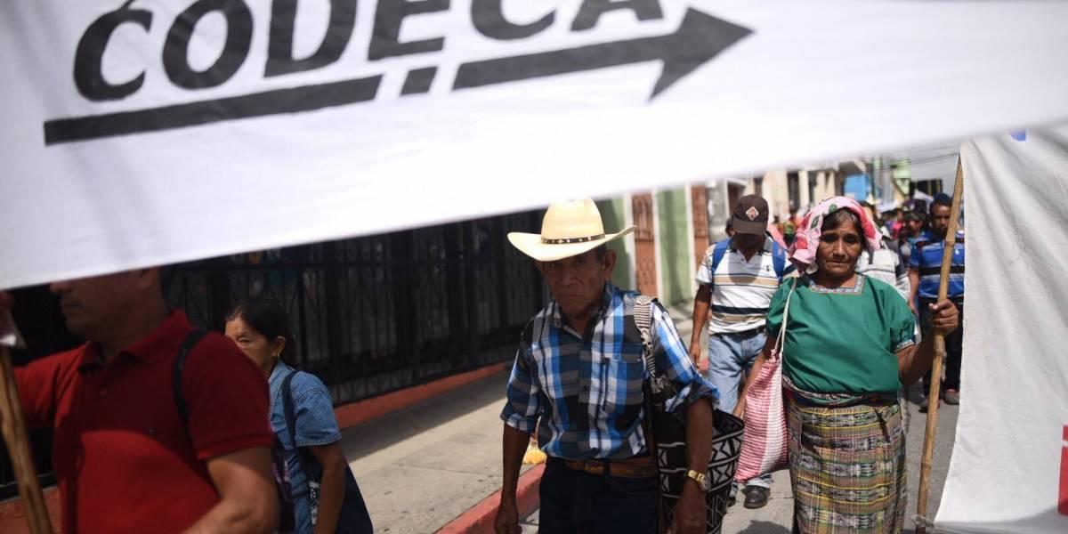 Codeca anuncia manifestaciones para este miércoles en la Ciudad de Guatemala