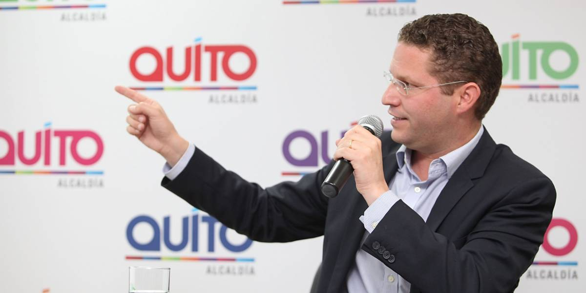 Mauricio Rodas confirma que no se postulará a la reelección a la Alcaldía de Quito