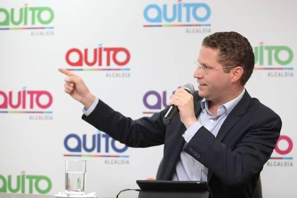 Mauricio Rodas alcalde Quito