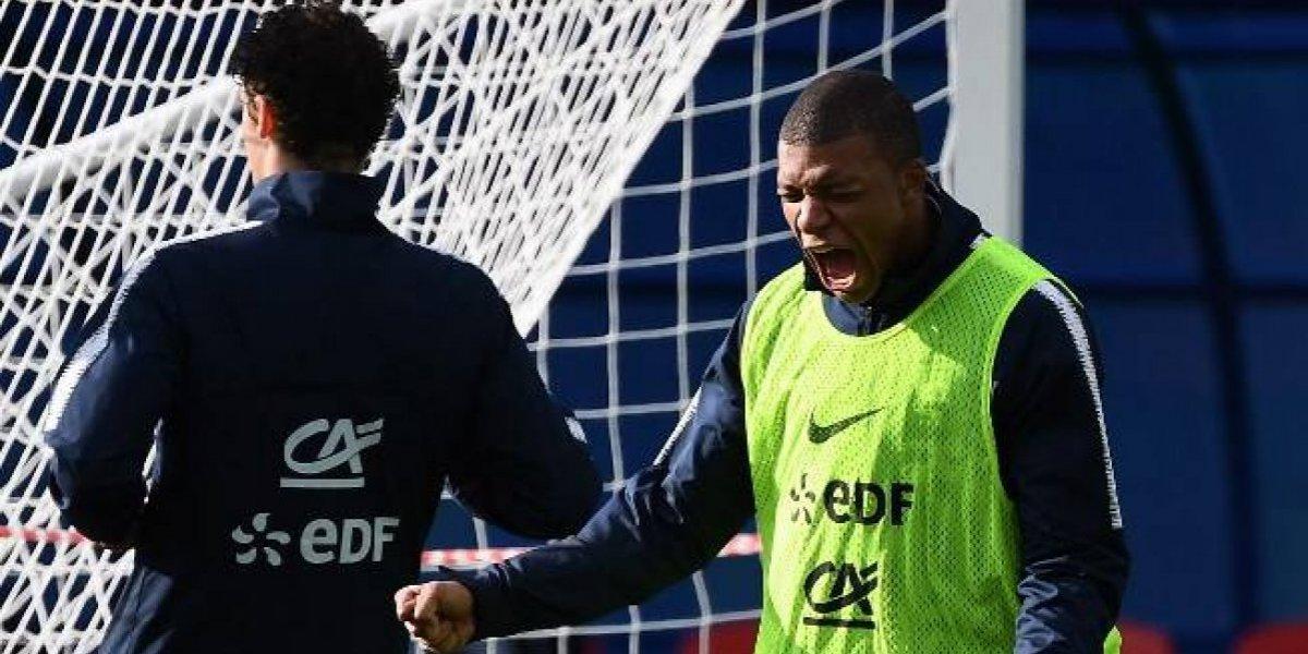 Kylian Mbappé deja entrenamiento y enciende las alarmas para Francia