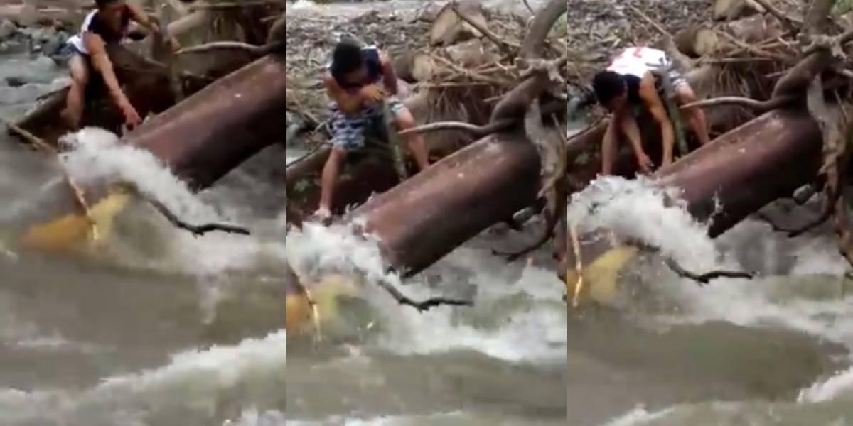 ¡Triste noticia!, tres mujeres fallecieron luego de ser arrastradas por el río en el que tomaban un baño