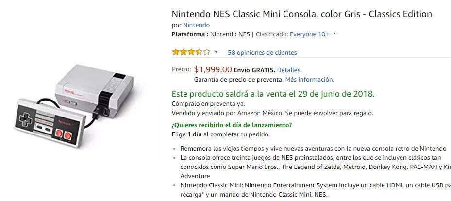 NES Classic Edition Amazon