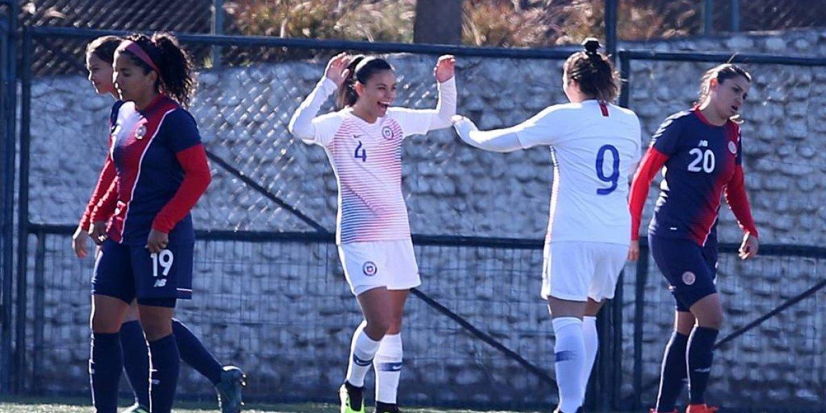 Pancha Lara y Cote Rojas se pusieron con los goles de la Roja en nuevo ensayo con miras a Francia 2019