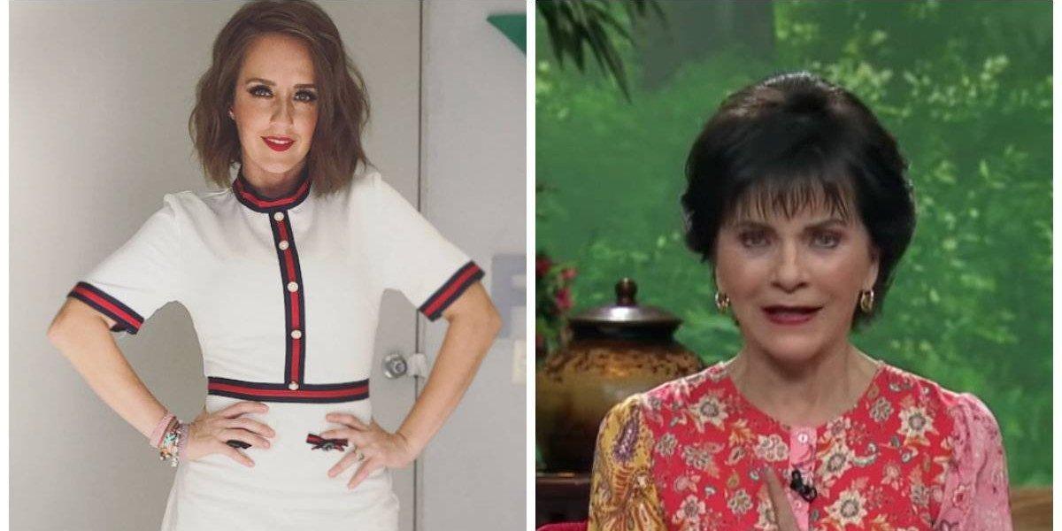 Paty Chapoy enfrenta a 'La Choco', '¿Qué te vas de Ventaneando?'