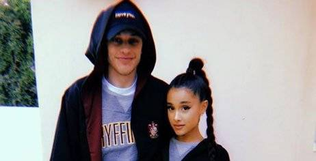 Pete Davidson e Ariana Grande