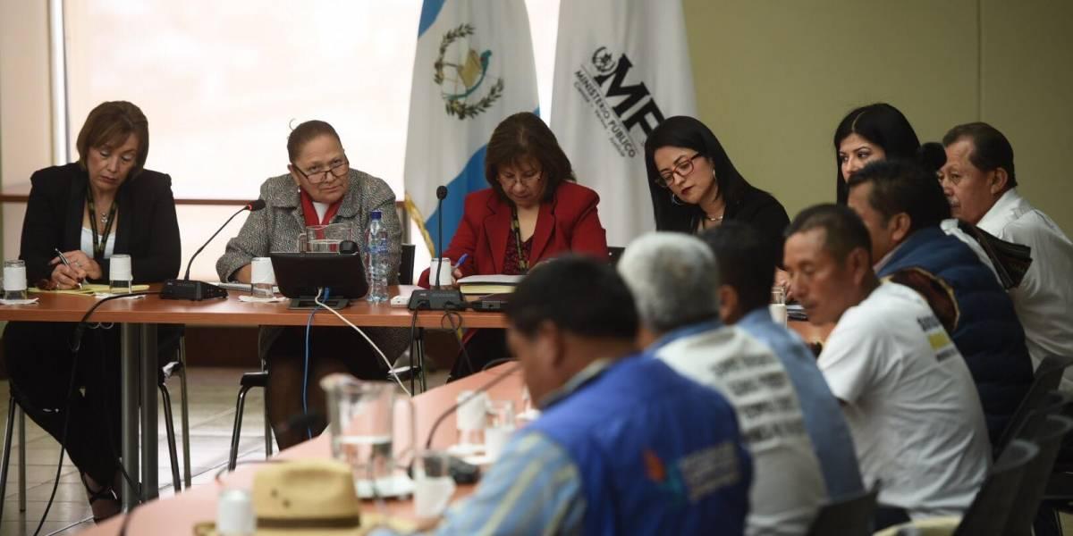 Integrantes de CODECA se reúnen con Fiscal General y piden justicia