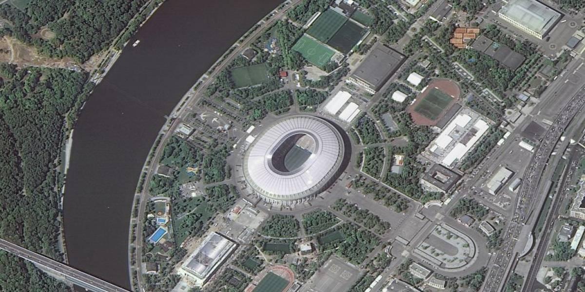 Estos son los 12 estadios del mundial de Rusia 2018 vistos desde el espacio