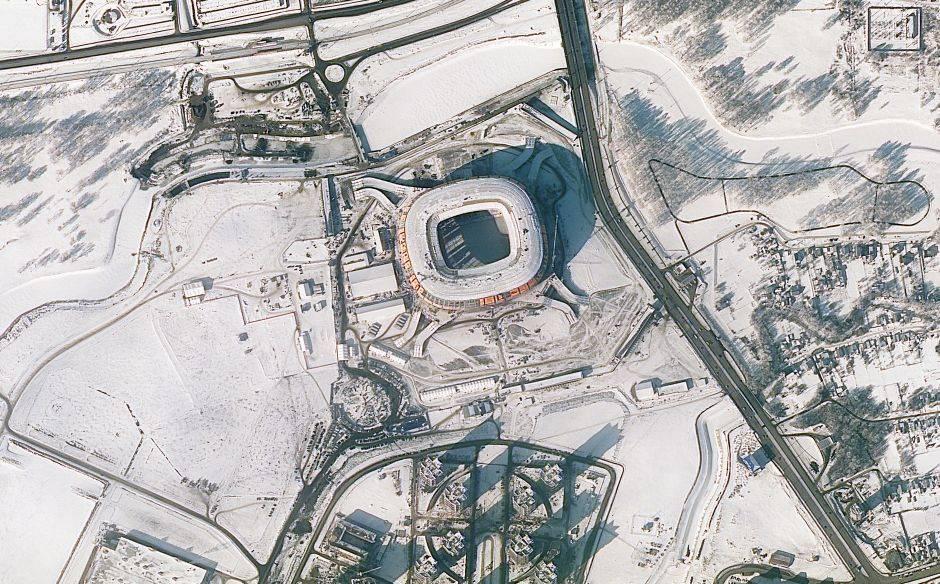 Llamado inicialmente Estadio Yubileyniy, el Mordovia Arena de Saransk tiene una capacidad de 45.100 espectadores. Su construcción costó 400 millones de dólares.