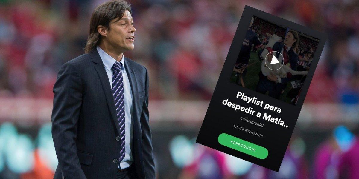 Aficionados de Chivas crean Playlist para despedir a Almeyda