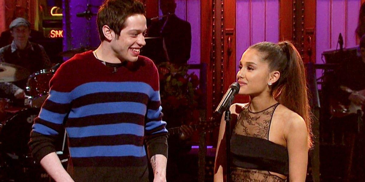 Fofo ou brega? Fãs questionam último gesto de amor de Ariana Grande para noivo Pete Davidson